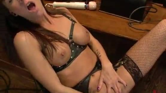 Horny Cam Girls Fuck in a Bar