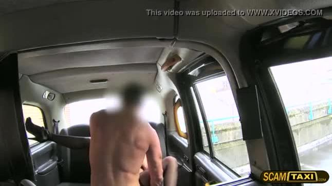 Damn sexy passenger gets pussy rammed and awarded a facial