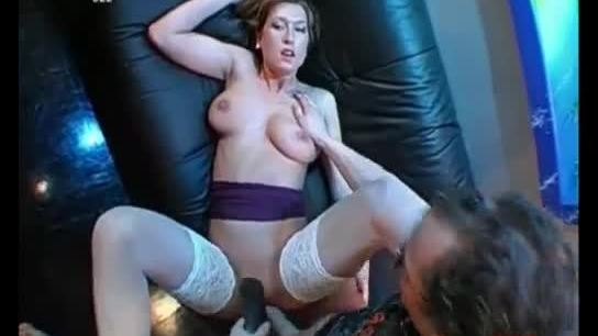 Busty whore gets her pussy pounded