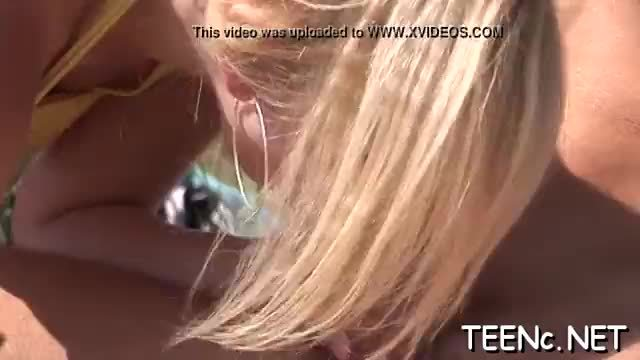 Seems like teenie loves the cock in both her soaked holes
